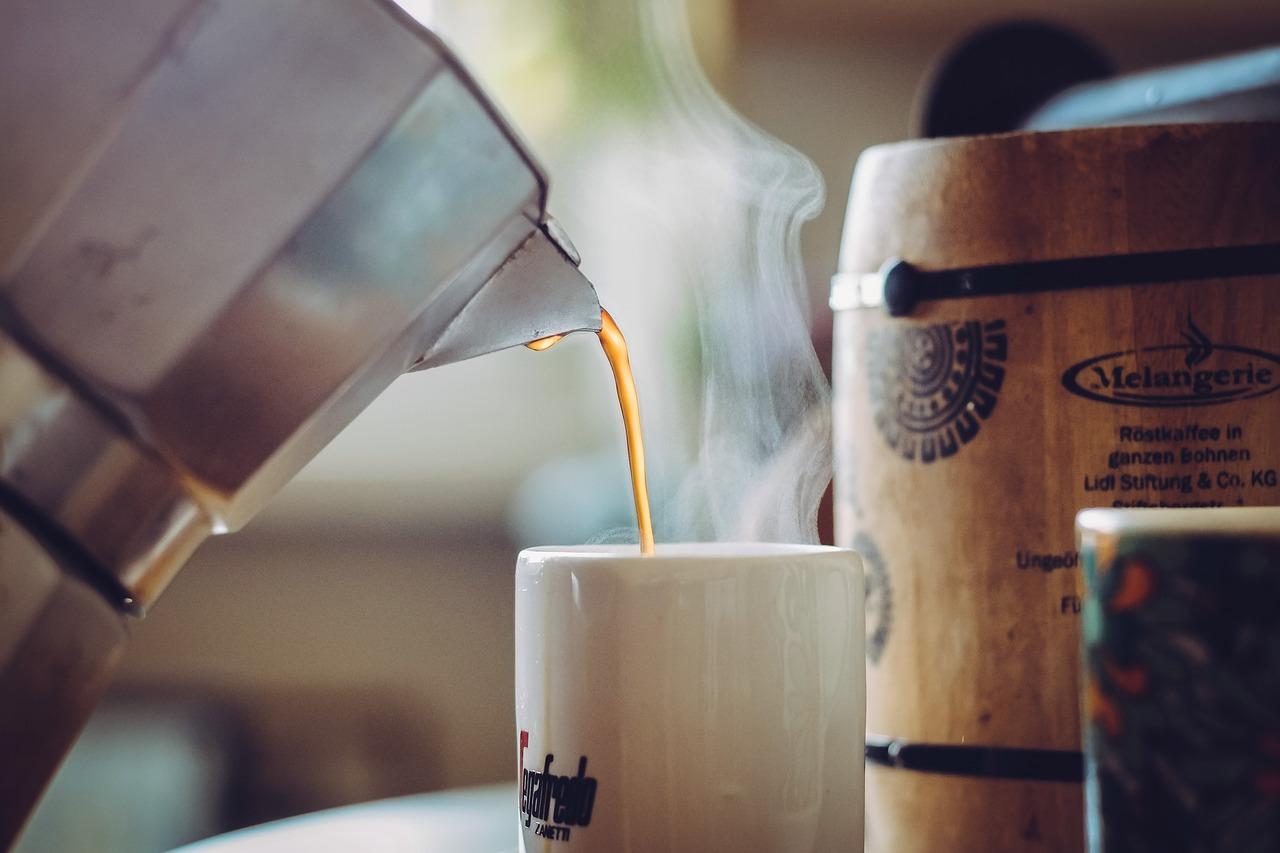 how to make black coffee
