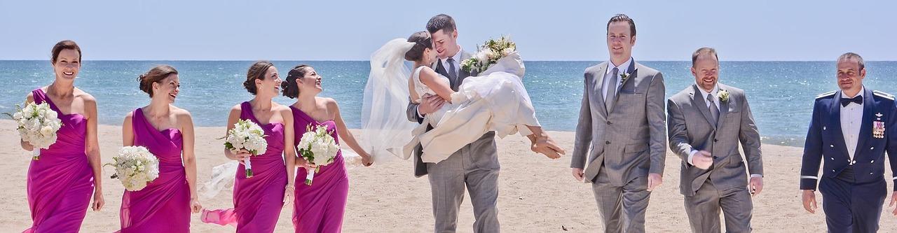 wedding at beach 2