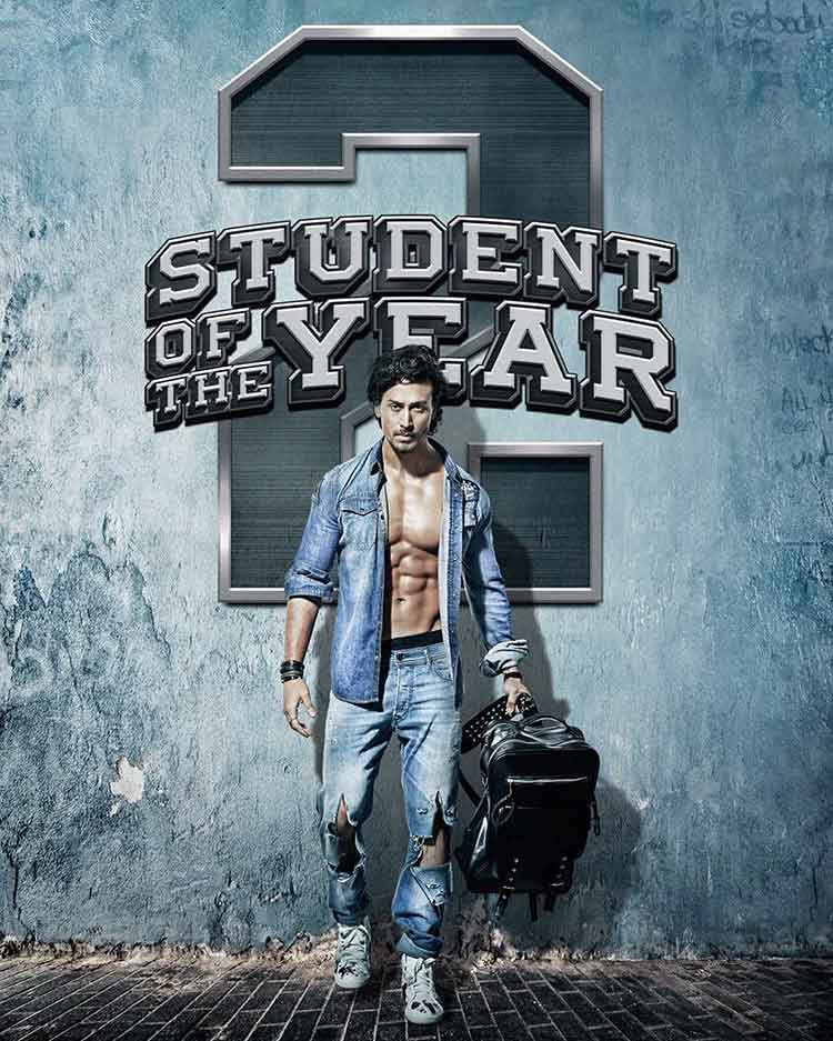 Student Of The Year 2 123Movies Poster