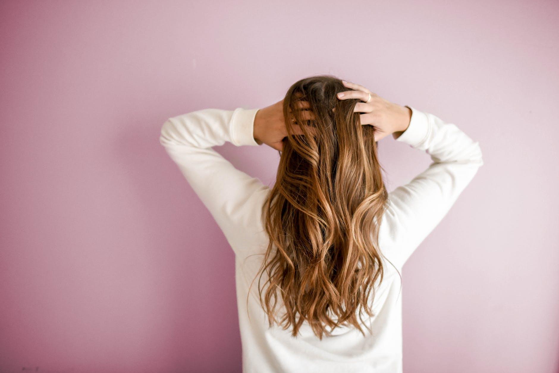 hair dry naturally